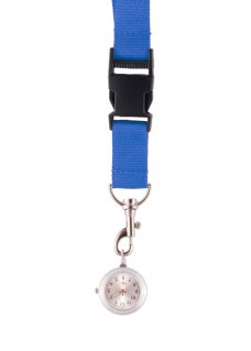 Lanyard/Keycord Horloge Blauw