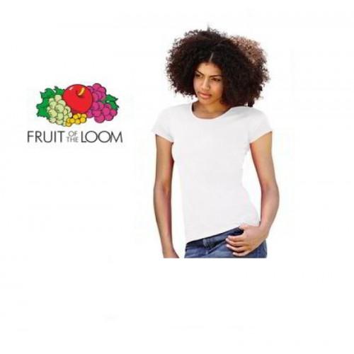 T-Shirt Dames Wit