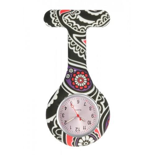 Siliconen Horloge Verpleegkundige Paisley