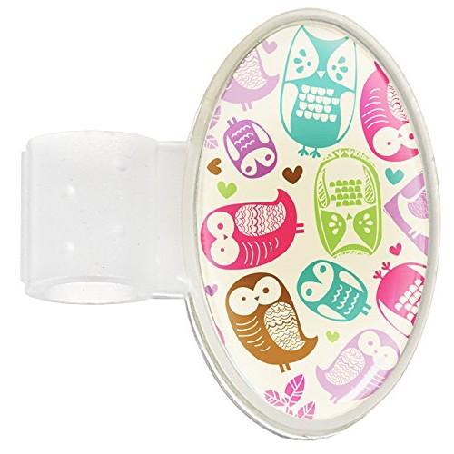 Stethoscoop Naam Badge Owl Cream