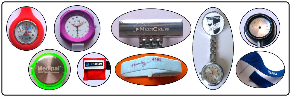 Logo voorbeelden NurseOClock