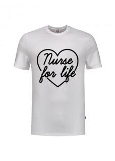 T-Shirt Nurse For Life Wit