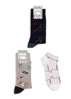 Dames Sokken Set Medische Instrumenten