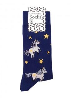 Happy Dames Sokken Eenhoorns