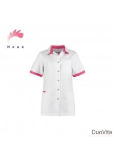 Haen Jasje Fijke White/Shocking Pink