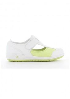 Oxypas Safety Jogger Camille Wit/Groen