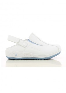 Oxypas Safety Jogger Carinne Wit/Blauw