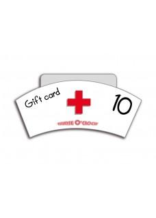 Kadobon 10 euro Nurse O'Clock