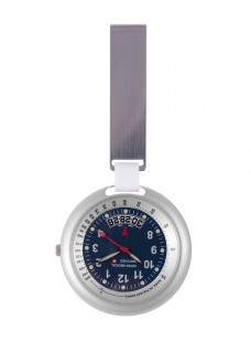 Swiss Medical Horloge Professional Line Zilver Blauw - Limited Edition