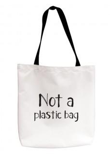 Tote Draagtas Not Plastic