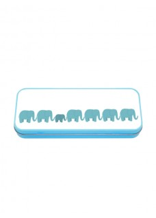 Instrumenten Doosje Blauw Olifanten