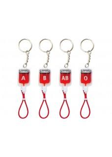 Sleutelhanger Bloedgroep