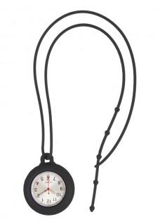 Siliconen Lanyard Horloge Zwart