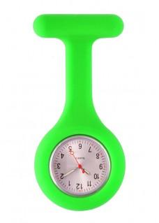 Standaard Siliconen VerpleegstersHorloge Lime groen
