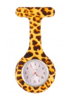 Siliconen Horloge Verpleegkundige Panter Geel