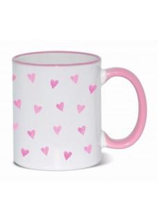 Mok Roze Hartjes Roze