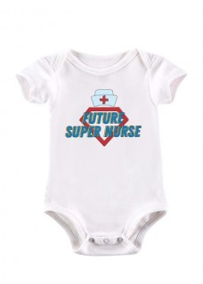 Baby Romper Future Super Nurse