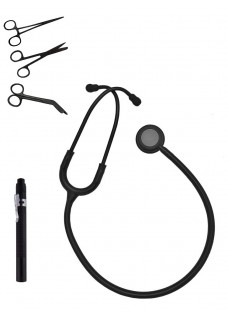 Hospitrix Instrumenten Kit Stealth Black Gratis Graveren