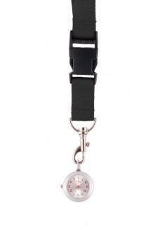 Lanyard/Keycord Horloge Zwart