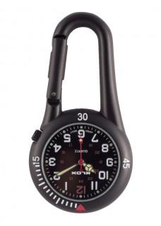 Knip Horloge NOC450 Zwart