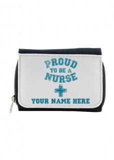 Portemonnee Proud Nurse met Naam Opdruk