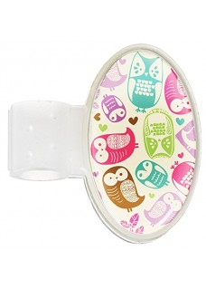 Stethoscoop Naam Badge Owl Cream