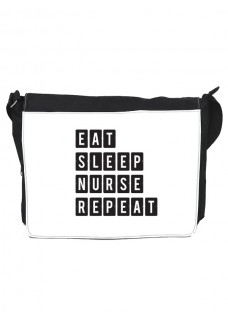 Schoudertas Groot Eat Sleep Nurse Repeat