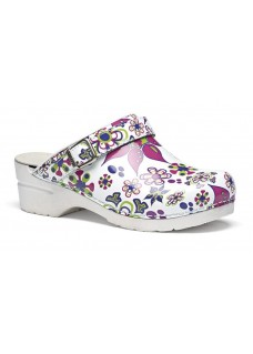 OUTLET maat 37 Toffeln Flexi Clog Floral
