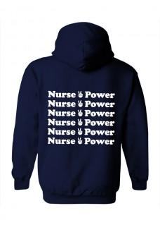 Gildan Hoodie Nurse is Power
