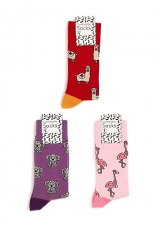 Dames Sokken Set Dieren