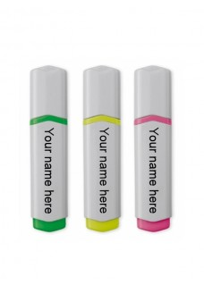 Highlighter/Markeerstift 3 Pak Love Peace Nurse