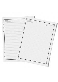 Herbruikbare Notebook A5 Bruin