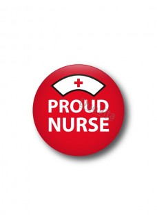 Button Proud Nurse