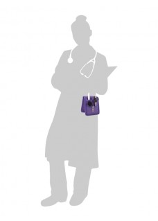 KEEN'S – Verpleegkunde organizer Paars + GRATIS ACCESSOIRES