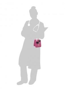 KEENS Verpleegkunde organizer Rose + GRATIS ACCESSOIRES