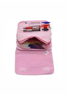 Instrumenten Tasje Roze Hartjes Roze