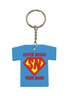 Sleutelhanger T-Shirt Super Nurse
