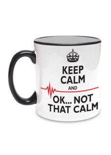 Mok Not That Calm Zwart