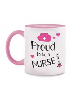 Mok Proud to be a Nurse 2 Roze
