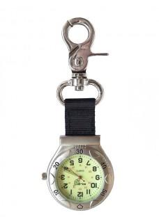 Karabijnhaak Horloge NOC457 Zilver