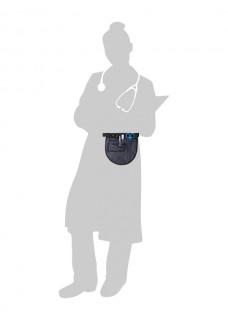 Verpleegkunde Buidel Marineblauw + GRATIS inhoud