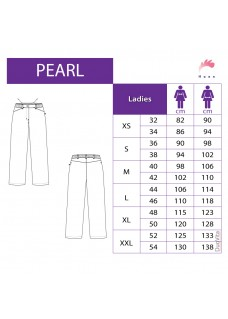 Haen Damesbroek  Pearl