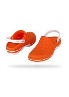 Wock Clog 05 Wit / Oranje 47-48