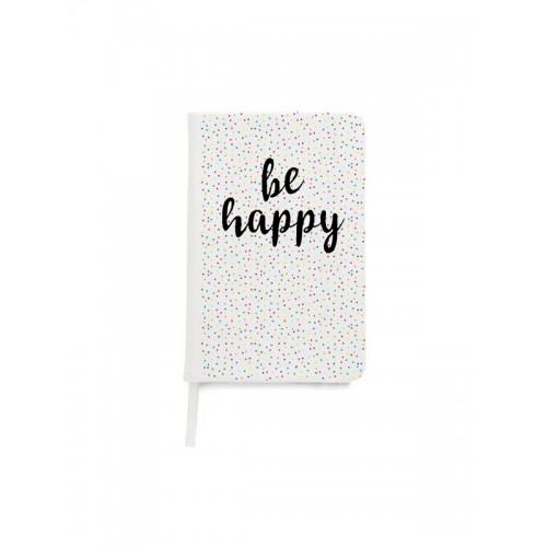 Notitieboek A5 Be Happy