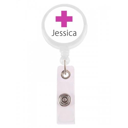 Badge / ID Jojo Cross met Naam Opdruk
