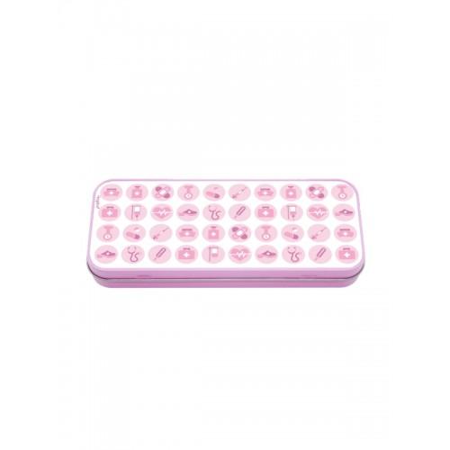 Instrumenten Doosje Medische Symbolen Roze