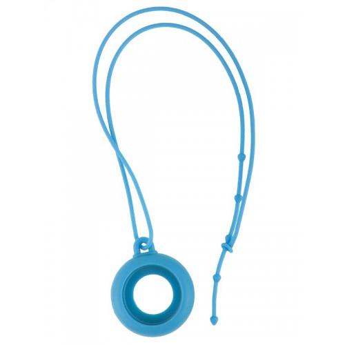 Siliconen Lanyard Blauw