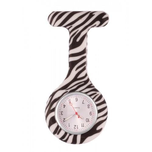 Siliconen Horloge Verpleegkundige Zebra