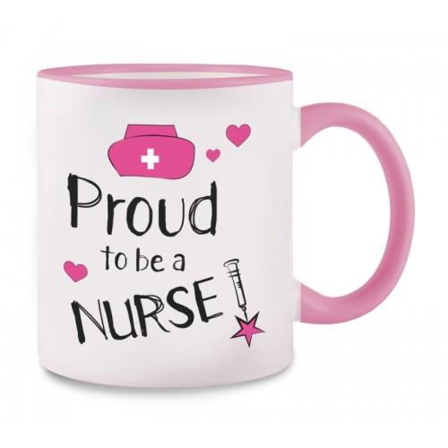 Mok Proud to be a Nurse 2 Roze