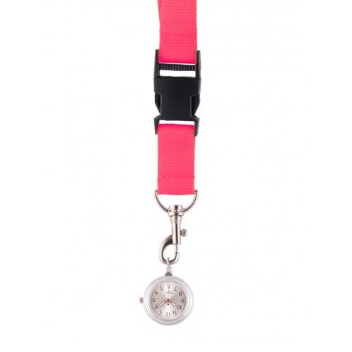 Lanyard/Keycord Horloge Roze